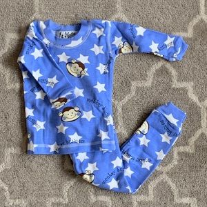 NWT At Home Pajama set 'monkeys'